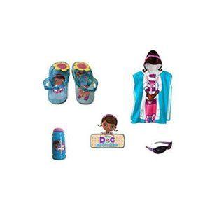 Doc McStuffins Flip-Flop Slingbacks & Towel Set